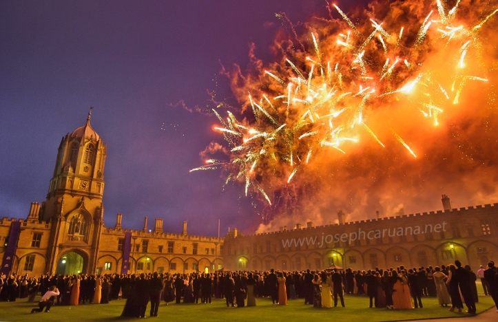 Christ Church Fireworks