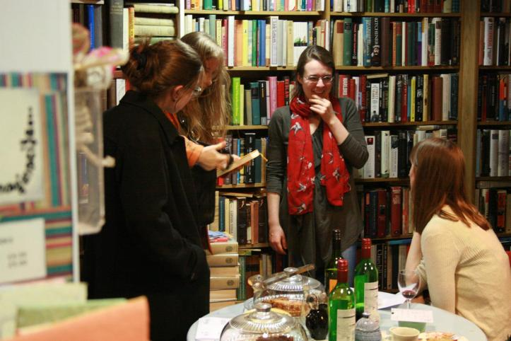 Poets at Structo 9 Launch ⓒ Catherine Mottram