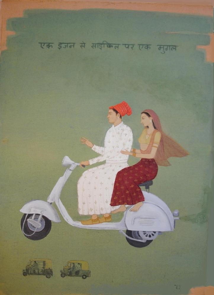 Mughal on a Vespa ⓒ Jethro Buck