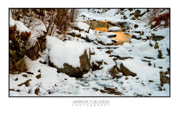 Alagna Stream Sunset ⓒ Jannick Fjeldsoe