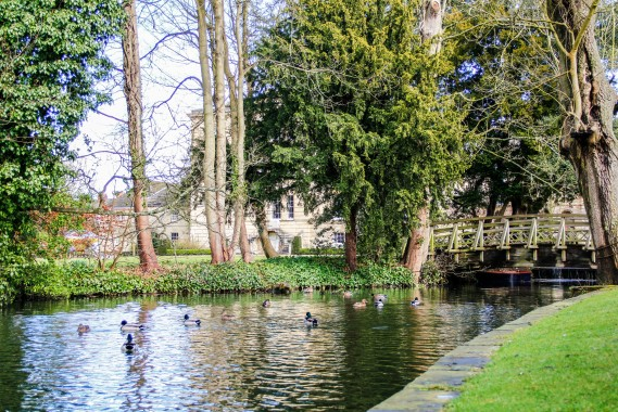 Worcester College lake ⓒ Merchant of Venice 2013
