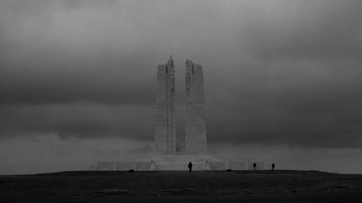 The Canadian National Vimy Memorial ⓒ Alexander Brett