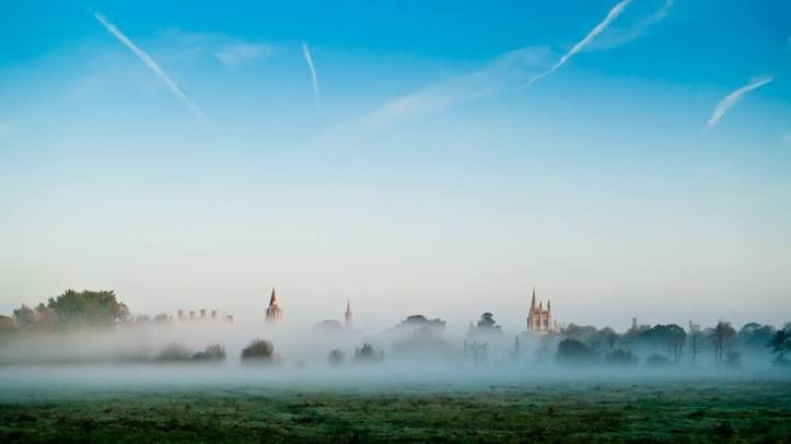 Christ Church in the Mist ⓒ James Trickey