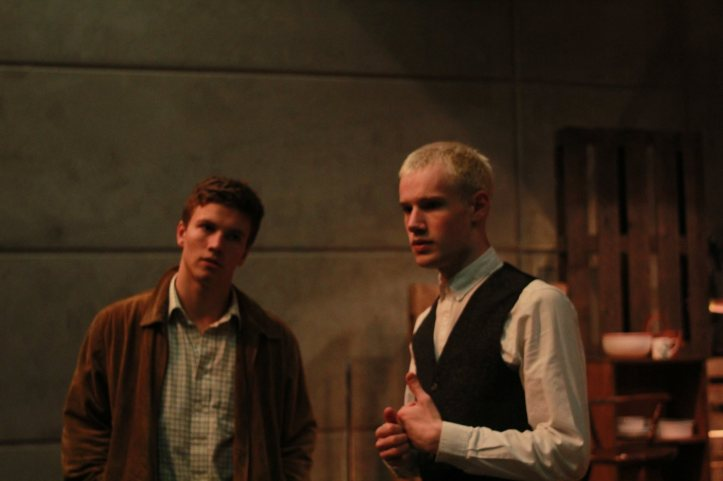 Leo Suter and Nick Finerty as Samuel and William ⓒ Alvin Yu