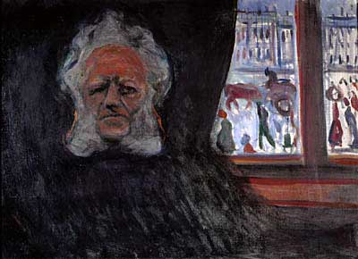 Henrik Ibsen at the Grand Café by Edvard Munch