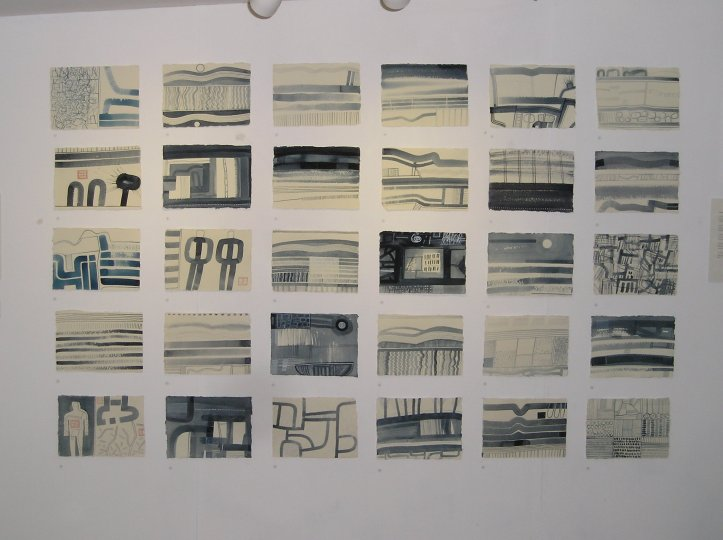 Exhibition at Art Jericho ⓒ Andrew Walton