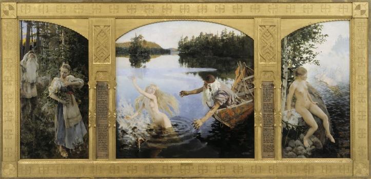 Akseli Gallen-Kallela 'The Aino Triptych'