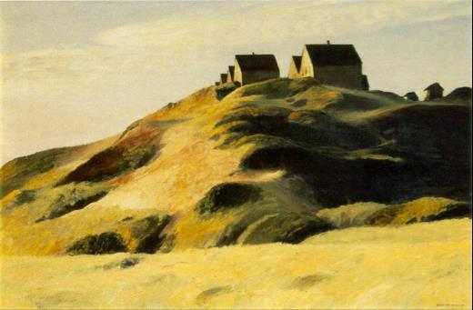 Edward Hopper - Corn Hill (1930)