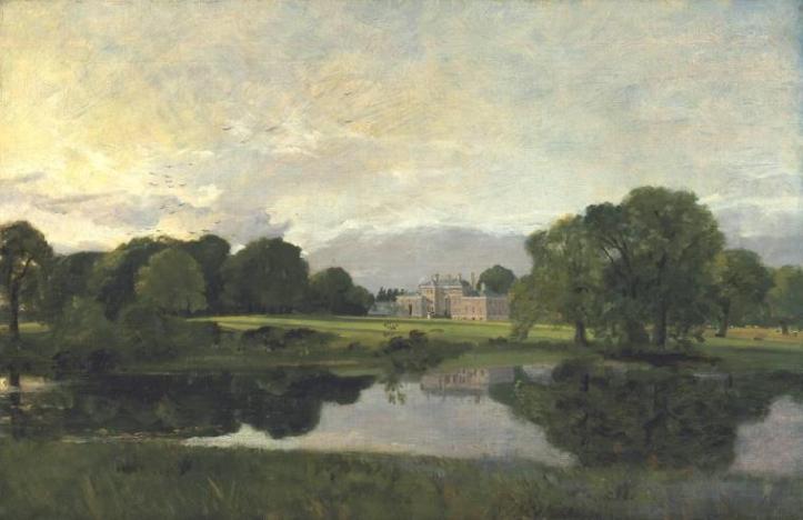 John Constable - Malvern Hall, Warwickshire (1809)