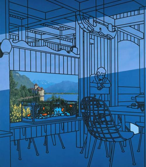 Patrick Caulfield - After Lunch (1975)