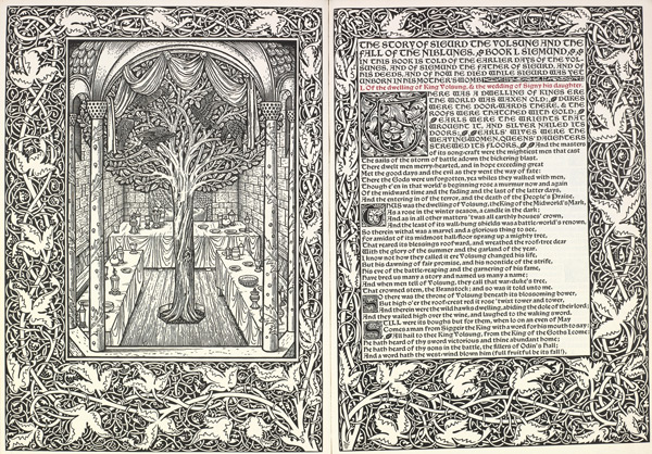 William Morris 'Sigurd the Volsung'