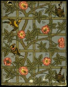 William Morris Trellis wallpaper