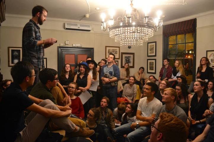 Oxford University Poetry Society readings