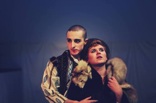 Dominic Applewhite & Florence Brady as Orlando and Sasha