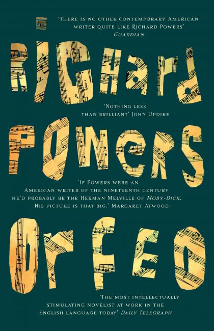 150- call in.Richard Powers-Orfeo jacket