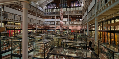 Pitt Rivers Museum in the daytime