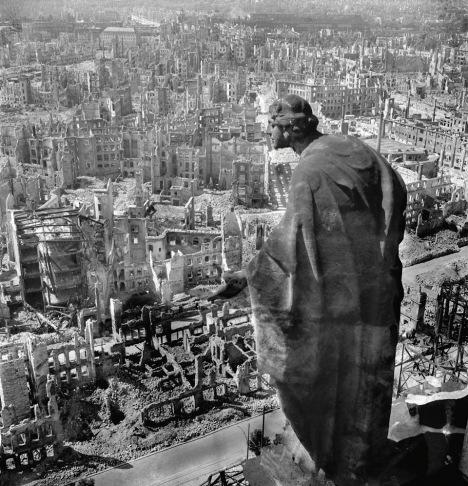 Richard Peter, 'Dresden After Allied Raids', 1945