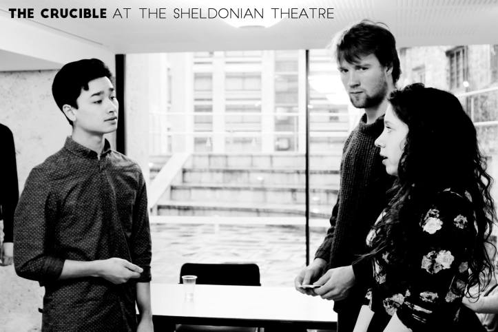 The Crucible in rehearsal