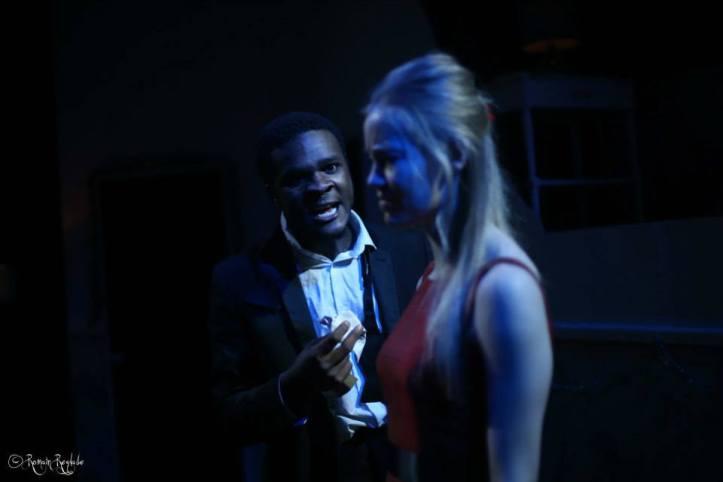 Clare Saxby & Femi Nylander as Nora & Torvald © Romain Reglade