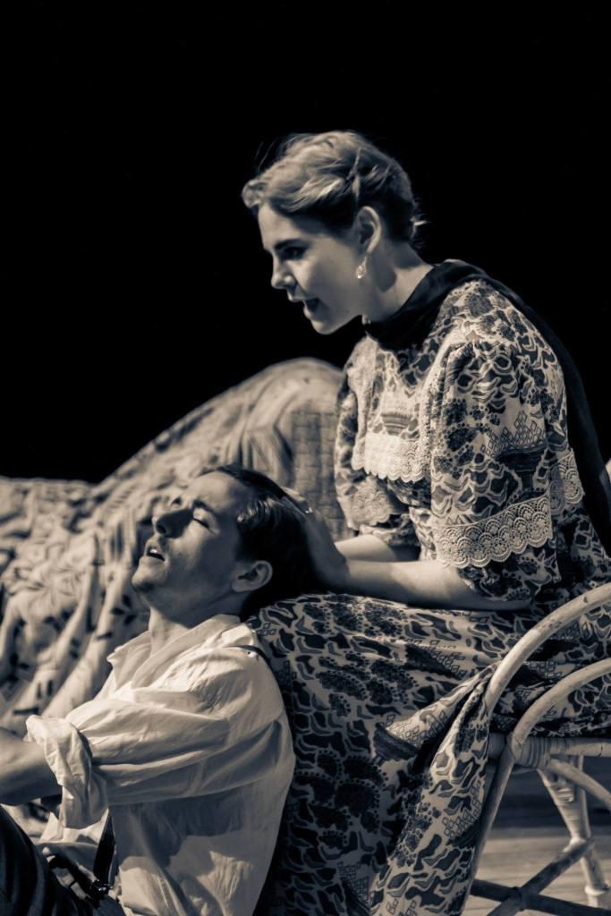 Adolph (Jacob Boswall) and Tekla (Isobel Jesper-Jones)