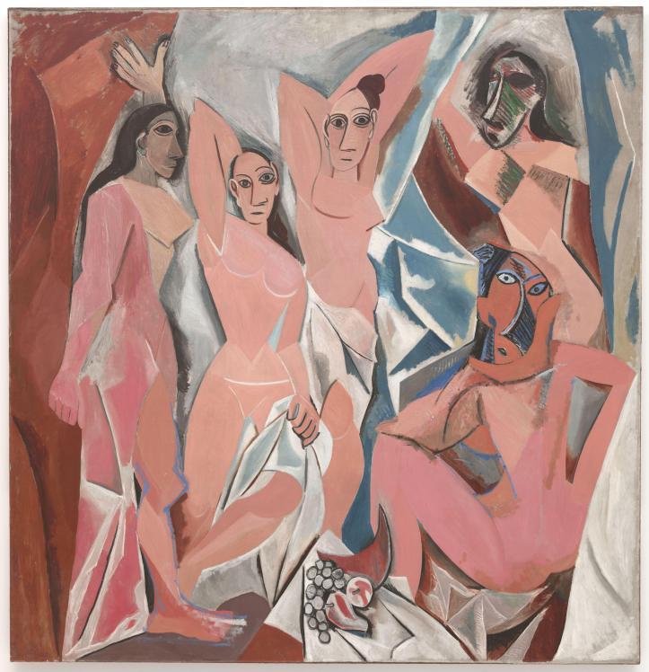 Picasso 'Les Demoiselles d'Avignon'