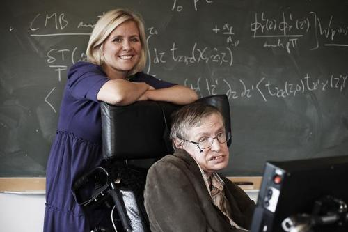 Stephen & Lucy Hawking