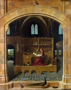'Saint Jerome in his Study', Antonello da Messina