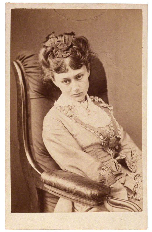 Alice Liddell by Lewis Carroll (Charles Lutwidge Dodgson), albumen carte-de-visite, 25 June 1870