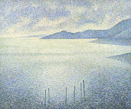 'Coastal Scene', Théo von Rysselberghe