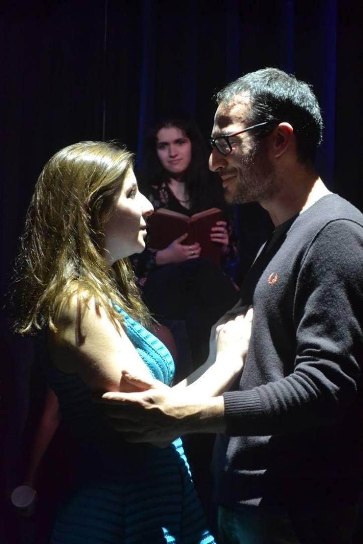 Betty Makharinsky (Drusilla) and Danny Scarponi (Dioclesian) © Alberto Prandini