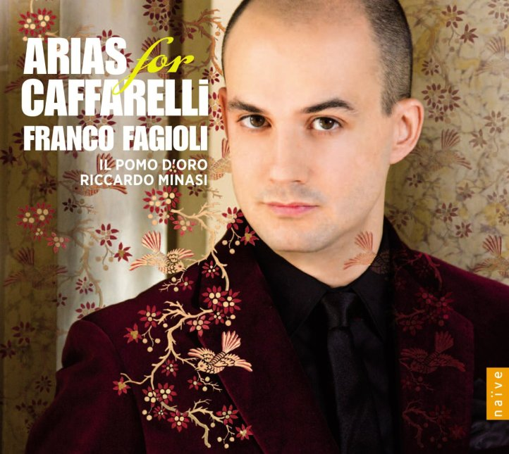 Cover of Arias for Caffarelli © Julien Laidig