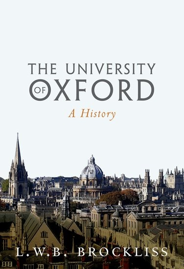 The University of Oxford: A History - cover