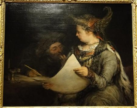 Aert de Gelder Esther and Mordecai (1685)