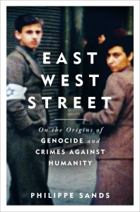 Cover of East West Street, courtesy of the publisher.
